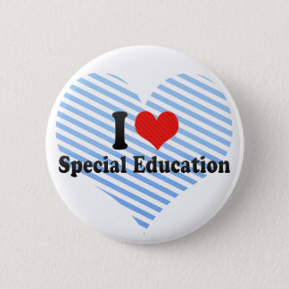 I Love Special Education 6 Cm Round Badge
