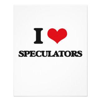 I love Speculators Custom Flyer