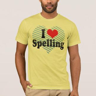I Love Spelling T-Shirt
