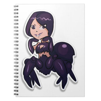 I love spiders notebook