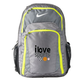 I love Sports Deluxe Back Pack Backpack