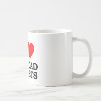 I Love Spreadsheets Coffee Mug