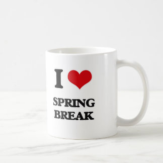 I love Spring Break Coffee Mug