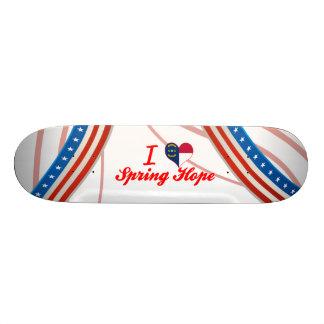 I Love Spring Hope, North Carolina Skate Boards