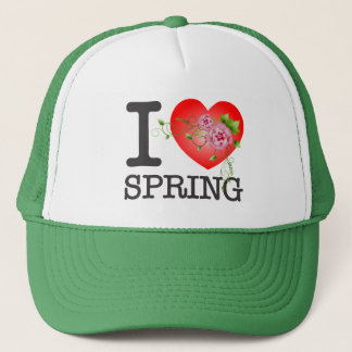 I Love Spring W/G Trucker Hat