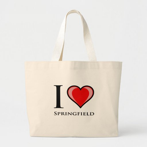 I Love Springfield Bag