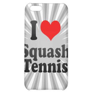 I love Squash Tennis iPhone 5C Covers