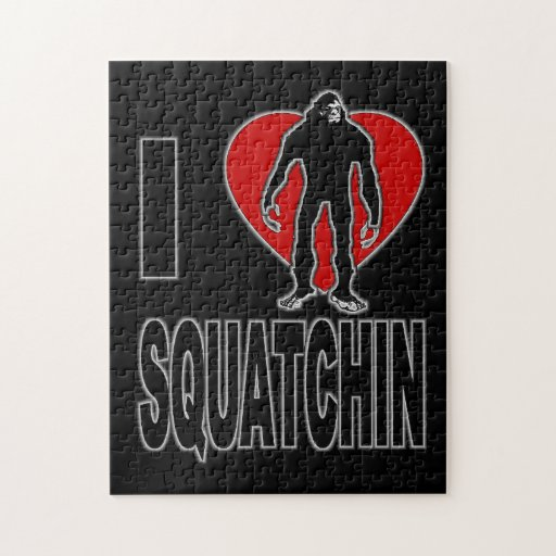 I Love Squatchin! Puzzles