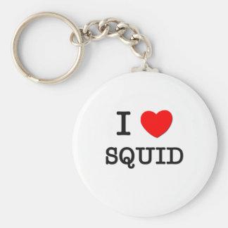 I Love SQUID Key Ring