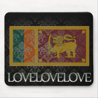 I love Sri Lanka Cool Mouse Pad