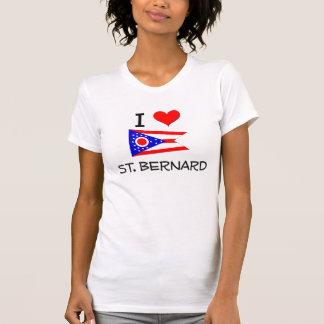I Love St. Bernard Ohio T-shirt