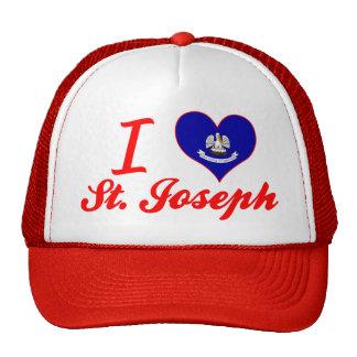 I Love St. Joseph, Louisiana Trucker Hats