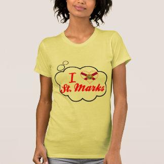 I Love St. Marks, Florida T-shirts