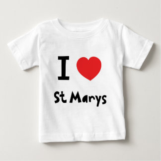 I love St Marys, Isles of Scilly Baby T-Shirt