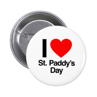 i love st paddy s day pins