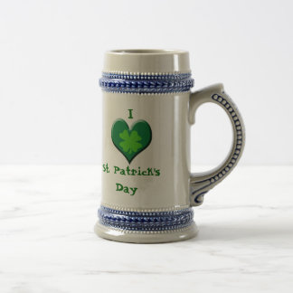 I Love St. Patrick's Day Coffee Mug