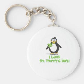I Love St Patty s Day Key Chain