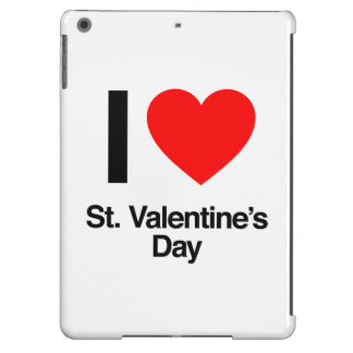 i love st. valentine's day cover for iPad air