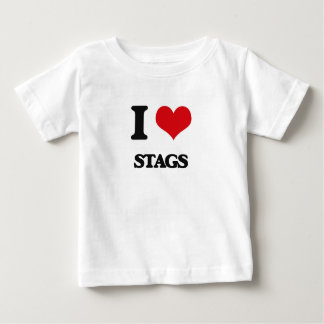 I love Stags T-shirt