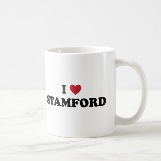 I Love Stamford Connecticut Coffee Mug