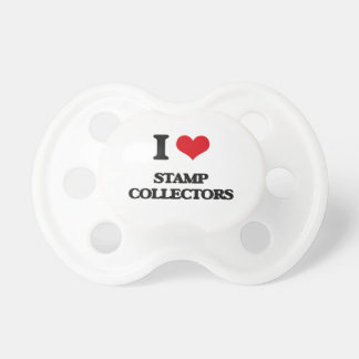 I love Stamp Collectors BooginHead Pacifier