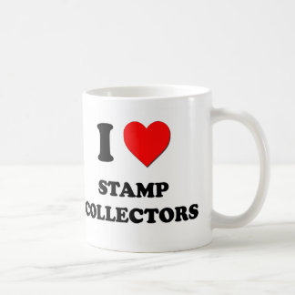 I love Stamp Collectors Coffee Mug