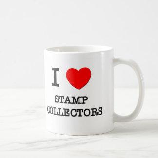 I Love Stamp Collectors Mug