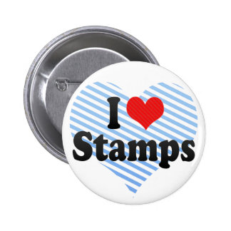 I Love Stamps Pins