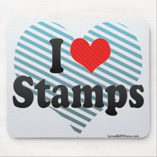 I Love Stamps Mouse Pad