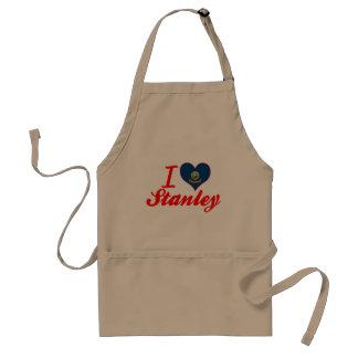 I Love Stanley, Idaho Standard Apron