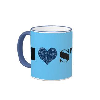 I Love Stat Coffee Mugs