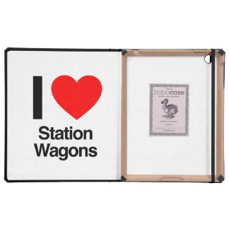i love station wagons cases for iPad