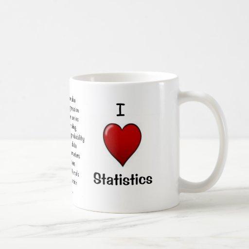 I Love Statistics - Rude Reasons Why! Mug