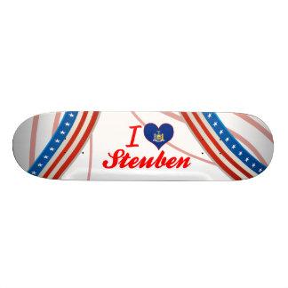 I Love Steuben, New York Skateboard Decks