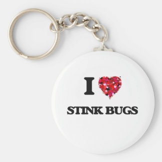 I love Stink Bugs Key Ring