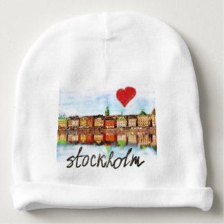 I love Stockholm Baby Beanie