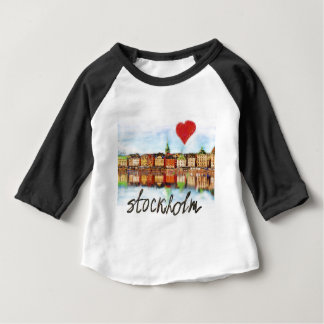 I love Stockholm Baby T-Shirt