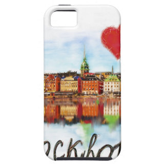I love Stockholm iPhone 5 Cover