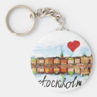 I love Stockholm Key Ring