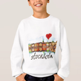 I love Stockholm Sweatshirt