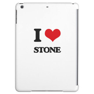 I love Stone iPad Air Cover