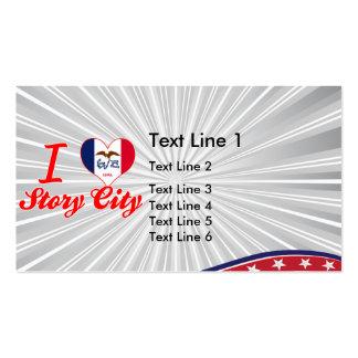 I Love Story City, Iowa Business Card Templates