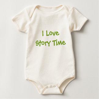 I Love Story Time Baby Bodysuit