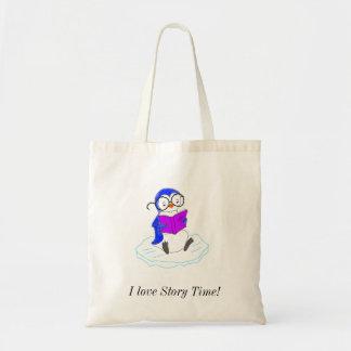 I Love Story Time! Budget Tote Bag