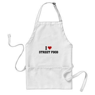 I love street food standard apron