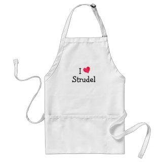 I Love Strudel Standard Apron