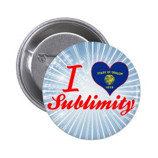 I Love Sublimity, Oregon Button