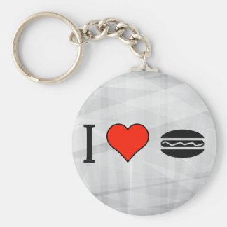 I Love Subway Diner Key Ring