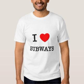 I Love Subways T-shirt