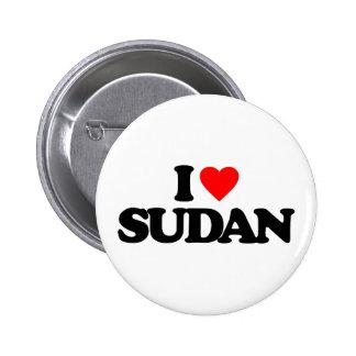 I LOVE SUDAN PINS